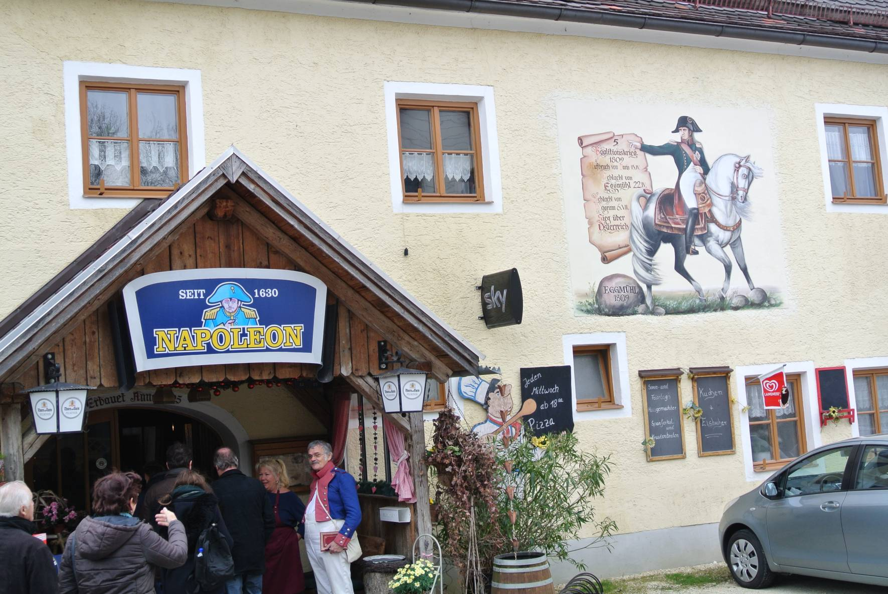 Gasthaus Napoleon in Eggmühl April 2017